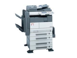 工程圖復印機租賃案例