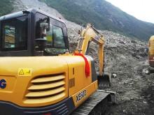 不負使命重托,徐工挖掘機進入災區中心投入救援