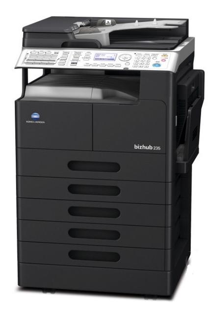 柯尼卡美能达235复印机/打印机租赁