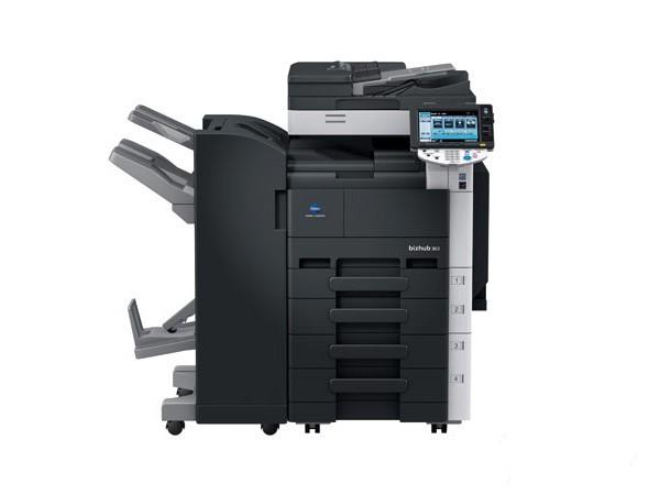 复印打印一体机柯尼卡美能达363