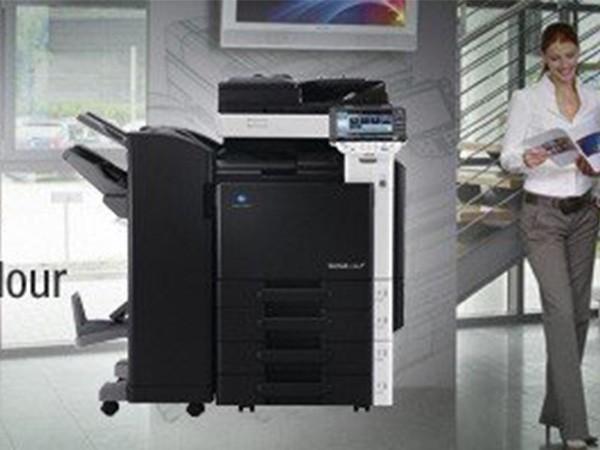 柯尼卡美能达360彩色复印机租赁 高档大方 性能出众 质量稳定