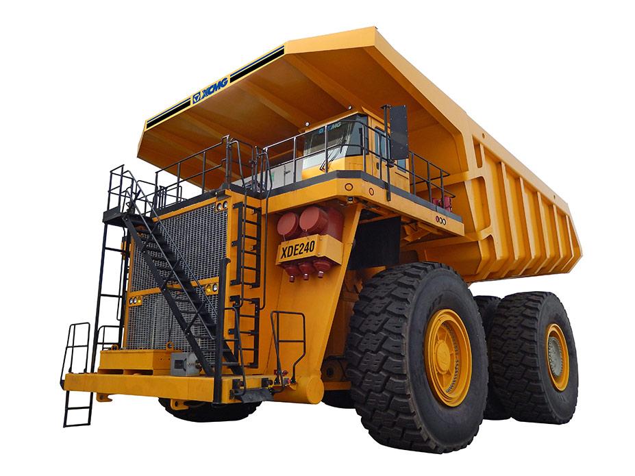 XDE240电传动自卸车