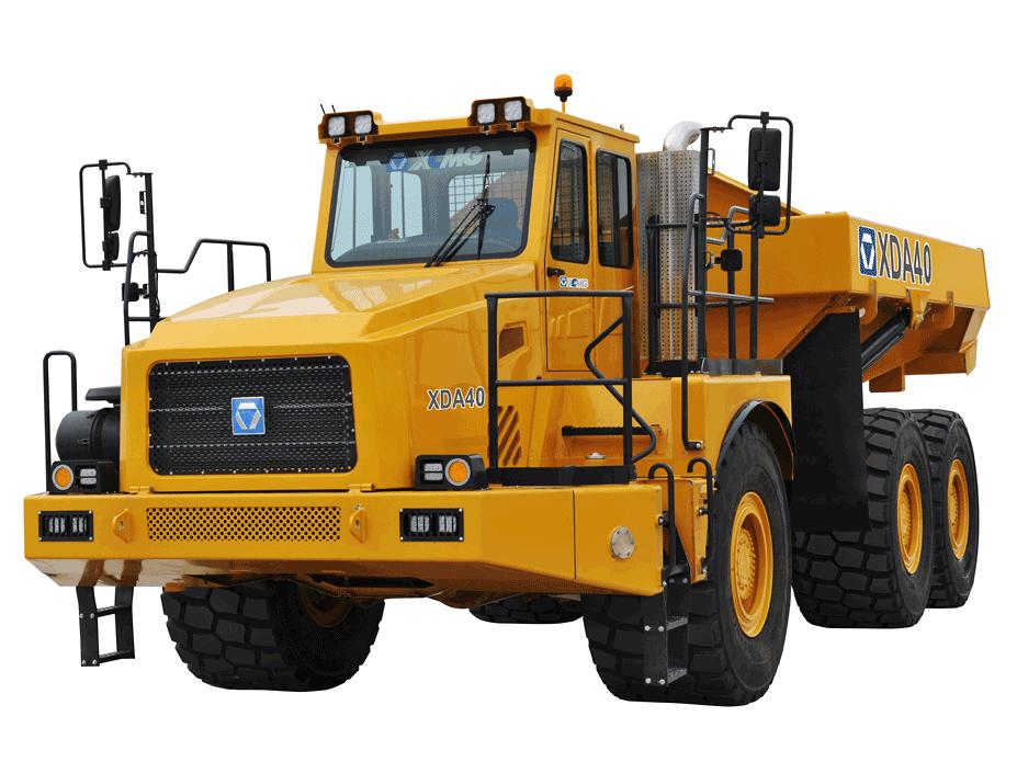 XDA40鉸接式自卸車