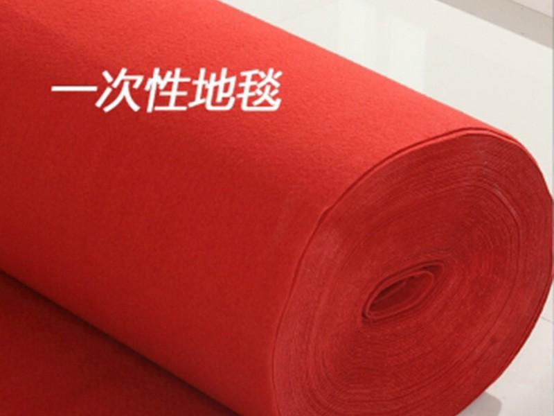 舞台一次性地毯(薄款) 红 自提采购