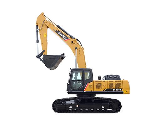 SY335H中型液压挖掘机
