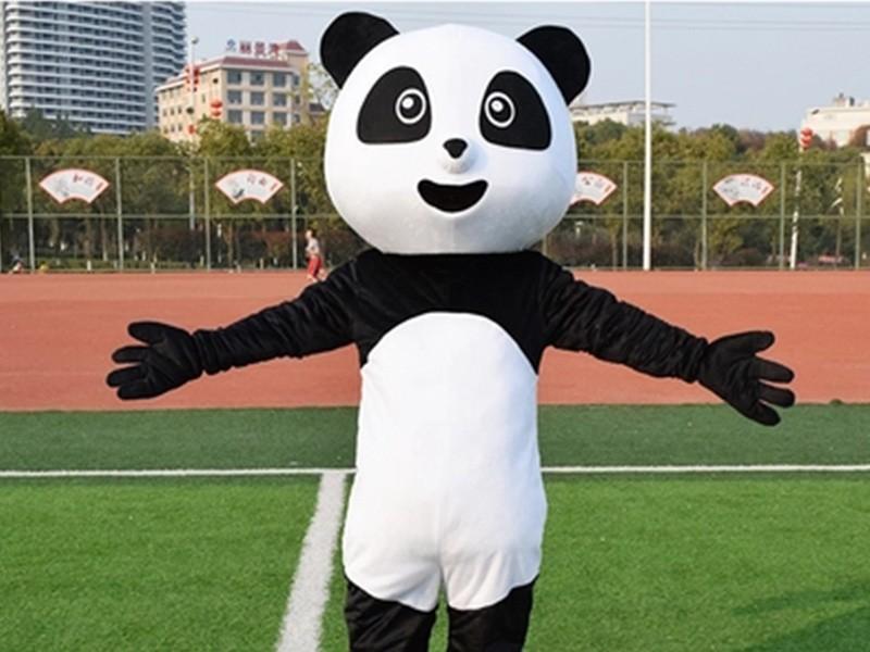 熊猫卡通人偶服装