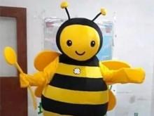 蜜蜂卡通人偶服裝