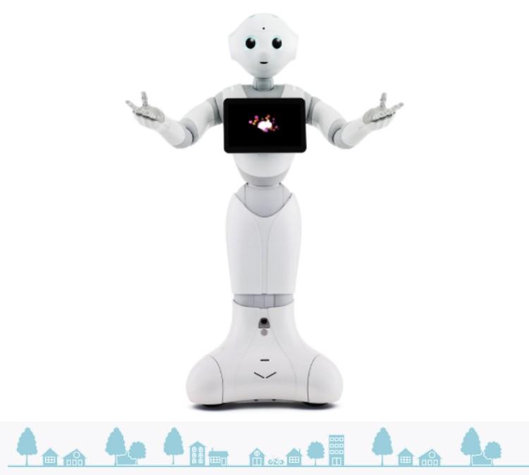 全国软银PEPPER服务机器人