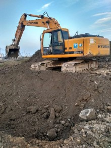 温州市挖机现代225-7包月24000元