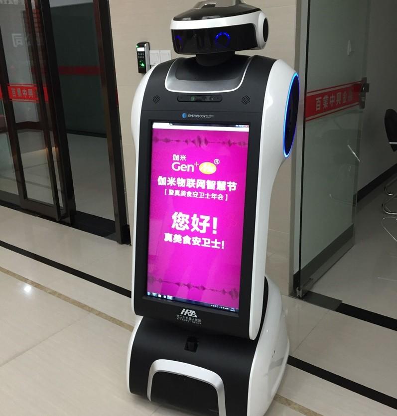 北京地壳服务机器人