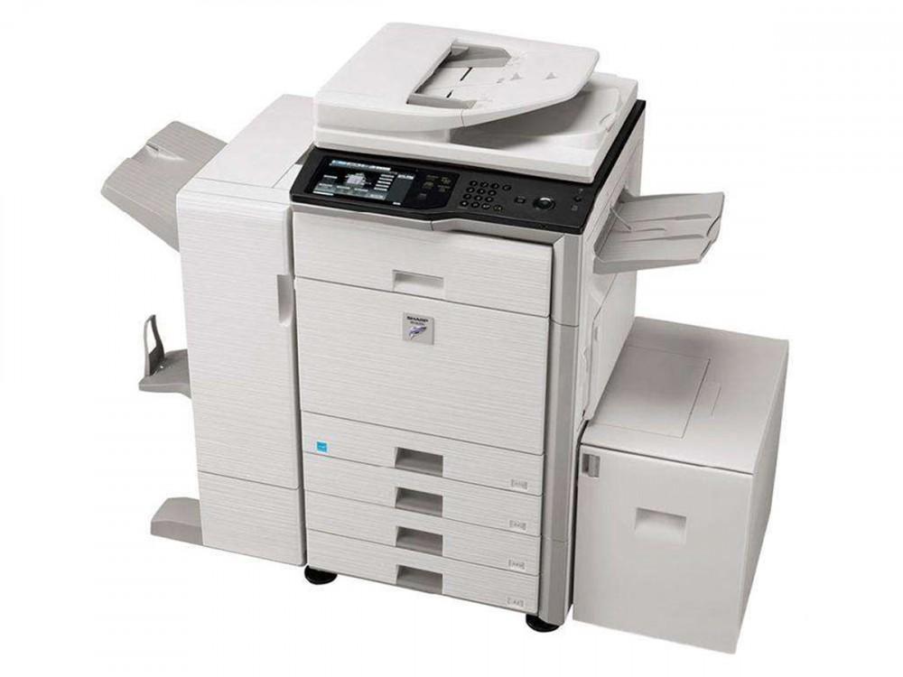 夏普自动双面彩色复印彩色打印彩色扫描数码复合机
