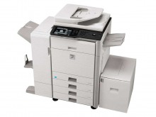 夏普自動雙面彩色復印彩色打印彩色掃描數碼復合機