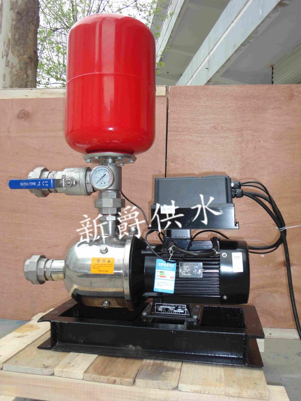 淄博新爵牌家用变频恒压水泵,解决来水压力不稳的现象