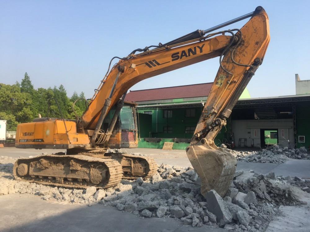 上海大中小挖機出租