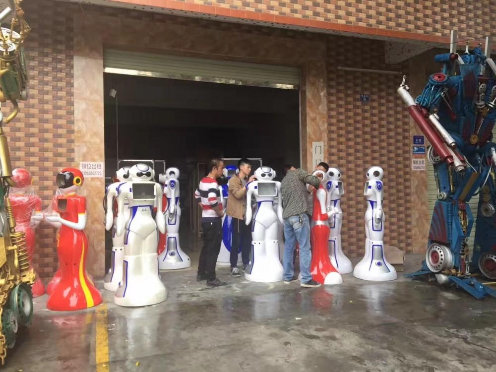 广州服务机器租赁,展会机器人租赁