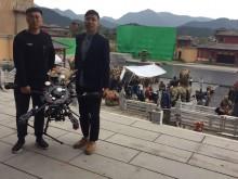 杭州无人机航拍、VR航拍、航拍直播、无人机跟车