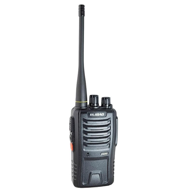手持无线对讲机精致小巧音质清晰自驾婚庆徒步聚会露营优选