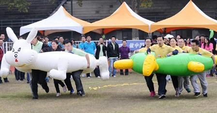 杭州充气龟兔赛跑租赁
