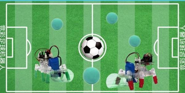 铲球互动足球机器人