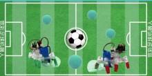 鏟球互動足球機器人