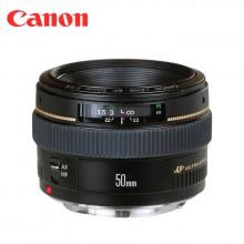 广州 佳能50mm/1.4 人像定焦镜头 次新