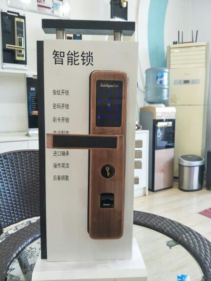 智能指纹锁家用防盗门大门指纹密码锁入户防盗门电子锁