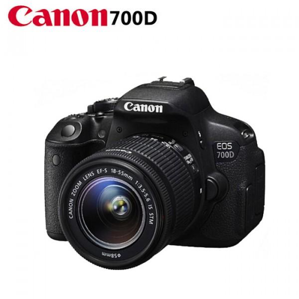 佳能(Canon)700D 18-55MM 单反相机