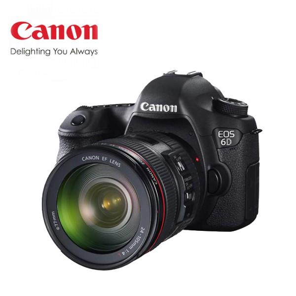 广州 佳能(Canon)6D套24-105 单反相机 次新