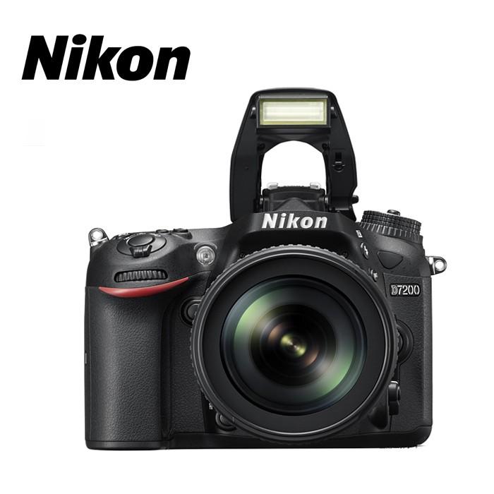 广州尼康(Nikon) D7200套18-135单反相机 次新