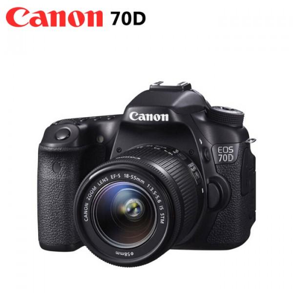 佳能(Canon)70D中端单反相机