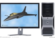 极速组装台式机(I5/8G/320G/GTX6501G/24寸显示器)【限成都】