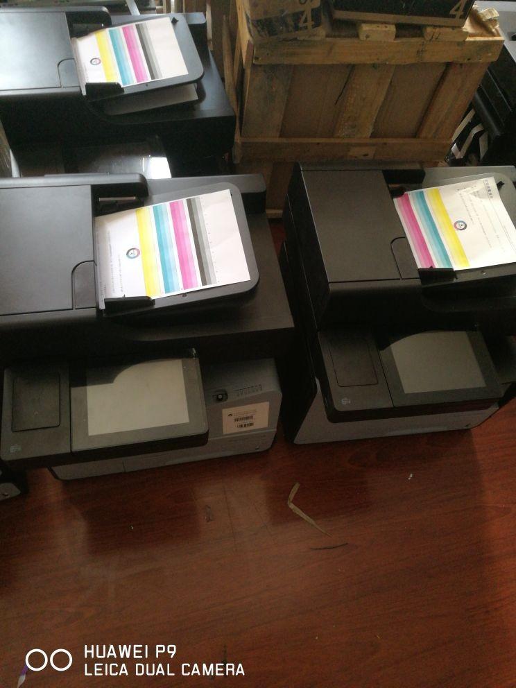 惠普彩色打印复印一体机租赁
