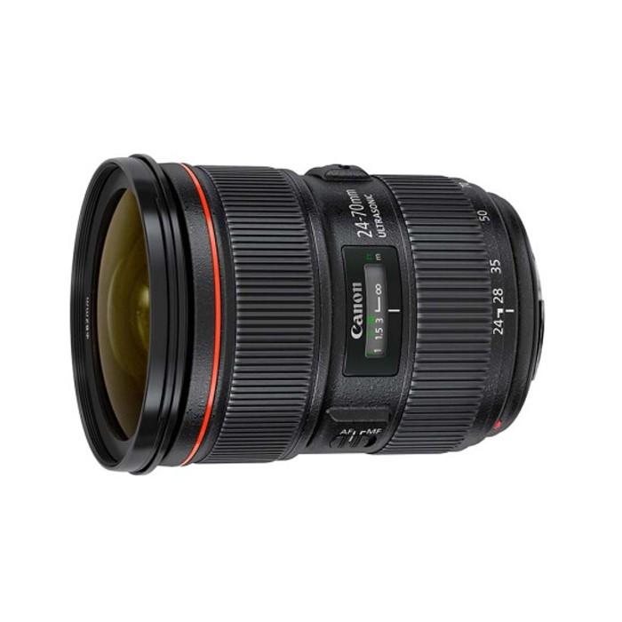 长沙市 Canon EF 24-70mm f/2.8 全新 佳能相机镜头