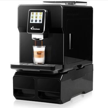 【**产品】触屏全自动磨豆意式办公室咖啡机
