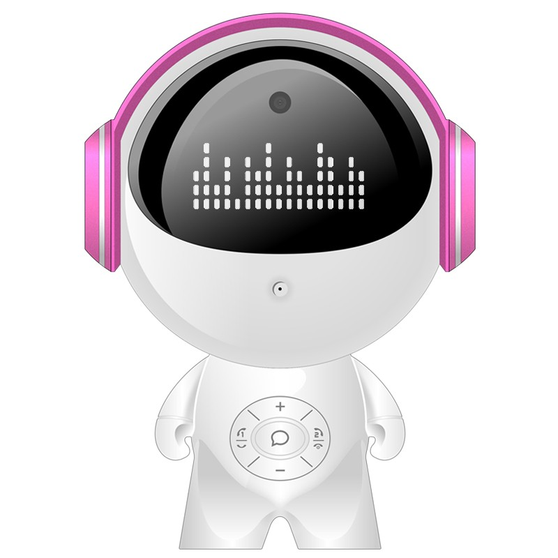 儿童智能陪伴机器人 早教教材 亲子社交 实时视频