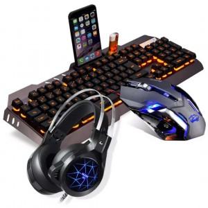 机械键盘鼠标耳机三件套-吃鸡专属