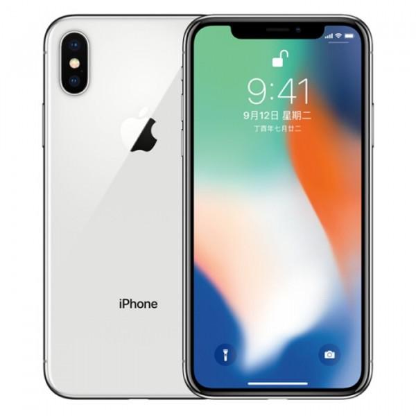 iphone X 64G 黑色/银色  99新 全网 无锁