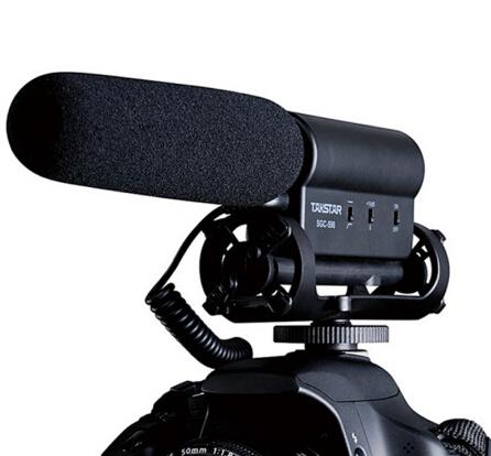 得胜SGC-598专业采访麦克风 新闻录音 摄像机单反相机DV枪式通用采访话筒