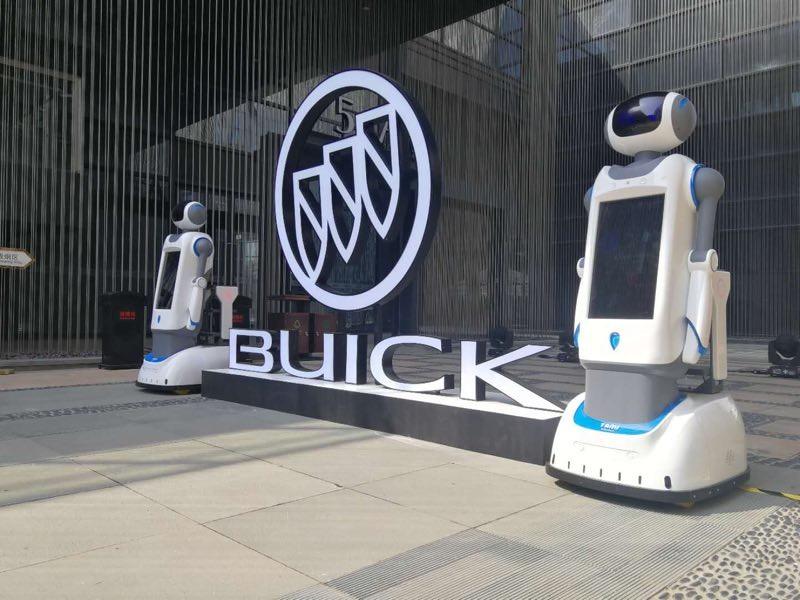 服务、语音讲解、遥控、移动塔米机器人租赁