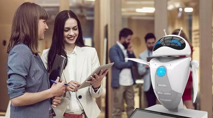 迎宾、签到、表演、解说、视频-塔米智能服务机器人租赁