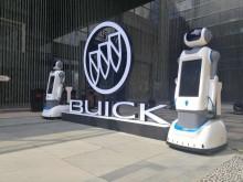 服務、語音講解、遙控、移動塔米機器人租賃