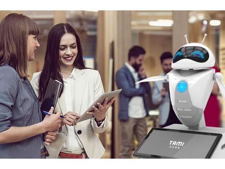 塔米智能,迎宾机器人,签到机器人,智能机器人租赁