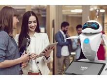 塔米智能,迎賓機器人,簽到機器人,智能機器人租賃