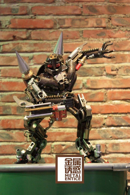 1米金屬藝術機器人