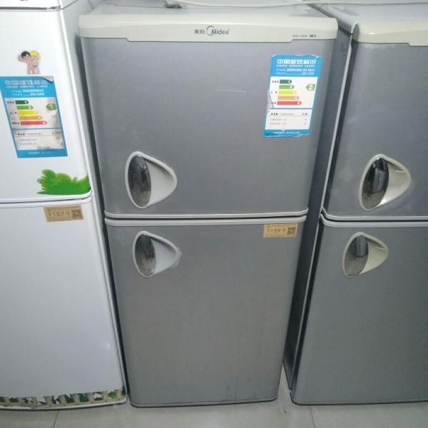 1159号:美的 1.2米 双门 小冰箱宿舍节能租房冷冻冷藏冰箱【支持租/售】