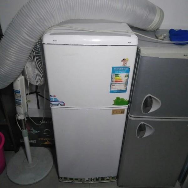 1157号:海尔 1.2米 双门 小冰箱宿舍节能租房冷冻冷藏冰箱【支持租/售】