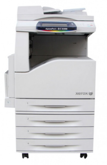 彩色中速数码复合机施乐DCC3300-3