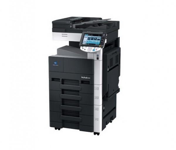 柯美363复印机,WiFi打印扫描