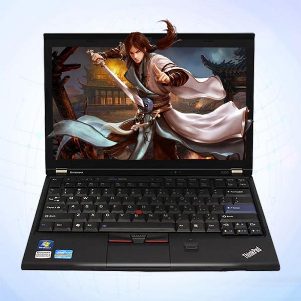 联想ThinKPad X220 I5CPU/4G内存/120G固态盘/商务办公便携笔记本电脑租赁