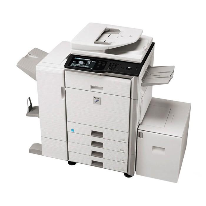 上海市 夏普 MX-363 95成新  数码复合机  黑白8500张  复印/打印/扫描